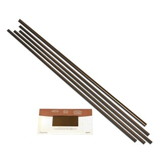 Fasade Backsplash Accessory Kit Large Profile Oil Rubbed Bronze