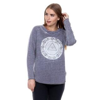 Stanzino Women's Long Sleeve Open Back Sweater