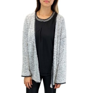 Relished Women's Contemporary Chartreux Chat Boucle Cardigan