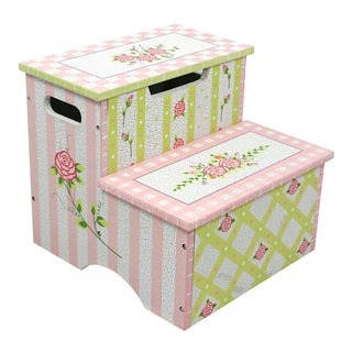 Fantasy Fields - Crackled Rose Step Stool