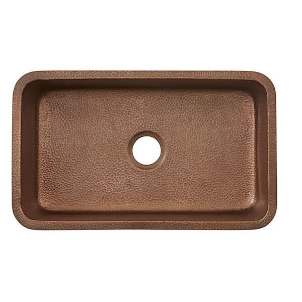 Sinkology Orwell Undermount Handmade Solid Copper 30 Inch