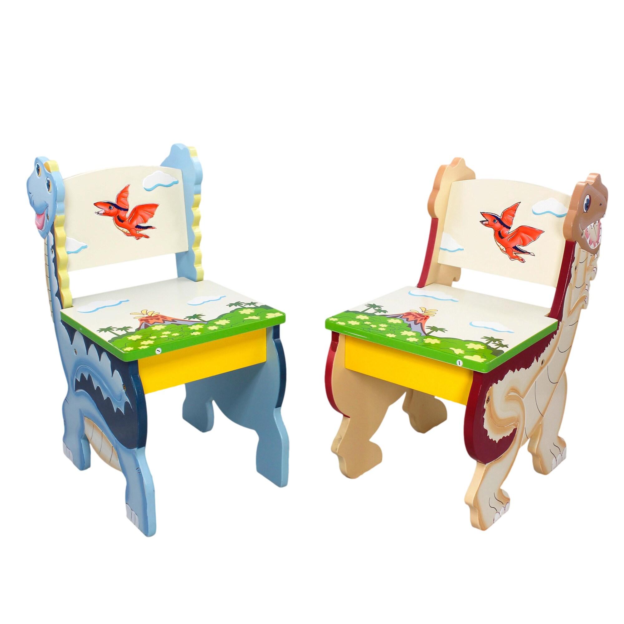 Teamson Fantasy Fields - Dinosaur Kingdom Set of 2 Chairs...
