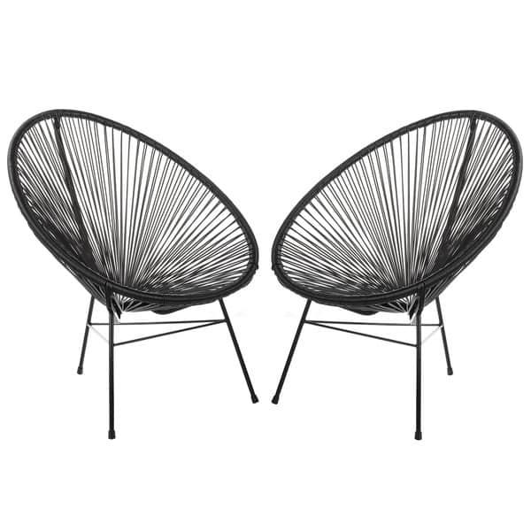 Super Shop Handmade Acapulco Basket Lounge Chair Set Of 2 On Spiritservingveterans Wood Chair Design Ideas Spiritservingveteransorg