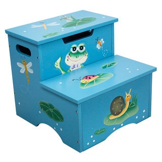 Fantasy Fields - Froggy Step Stool w/Storage