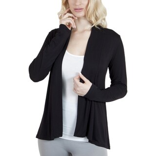 Agiato Apparel Modern Long Sleeve Basic Cardigan
