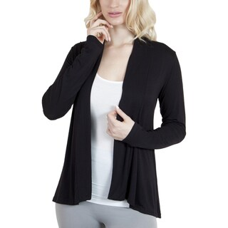 Agiato Apparel Modern Long Sleeve Basic Cardigan (Option: Xs)