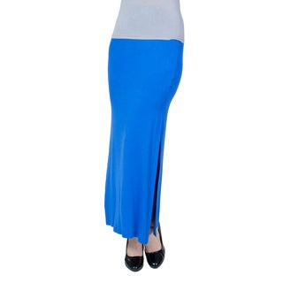 Agiato Apparel Side Slit Maxi Skirt