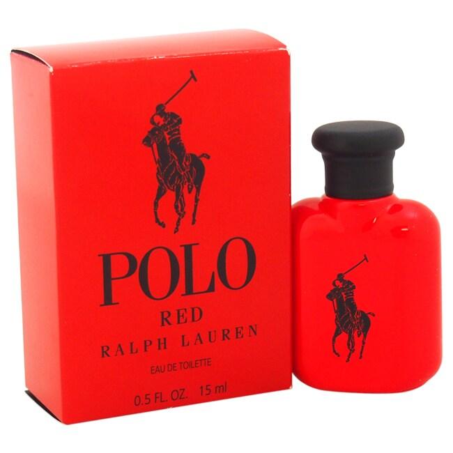 Ralph Lauren Polo Red Men's 0.5-ounce Eau de Toilette Spl...