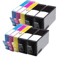 564XL BK (CB321WN) 564XL C (CB323WN) 564XL M (CB324WN) 564XL Y (CB325WN) Compatible Inkjet Cartridge For B8550 (Pack of 10)
