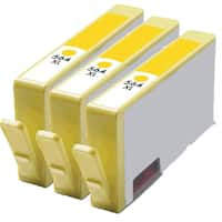 564XL Y (CB325WN) Compatible Inkjet Cartridge For B8550 C5380 C6340 C6350 (Pack of 3)