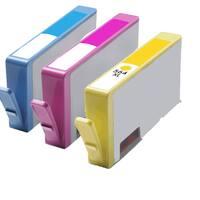 564XL C (CB323WN) 564XL M (CB324WN) 564XL Y (CB325WN) Compatible Inkjet Cartridge For B8550 C5380 C6340 C6350 (Pack of 3)