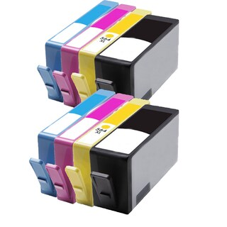 564XL BK (CB321WN) 564XL C (CB323WN) 564XL M (CB324WN) 564XL Y (CB325WN) Compatible Inkjet Cartridge For B8550 (Pack of 8)