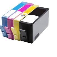 564XL BK (CB321WN) 564XL C (CB323WN) 564XL M (CB324WN) 564XL Y (CB325WN) Compatible Inkjet Cartridge For B8550 (Pack of 4)