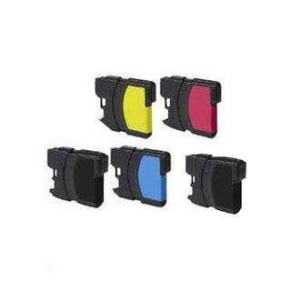 Brother LCBK LC61 C / LC65C LC61 M / LC65M LC61 Y / LC65Y Compatible Inkjet Cartridge For MFCAN-5490CN (Pack of 4)