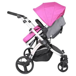 Elle Baby Journey Convertible Stroller|https://ak1.ostkcdn.com/images/products/10497538/P17587311.jpg?impolicy=medium