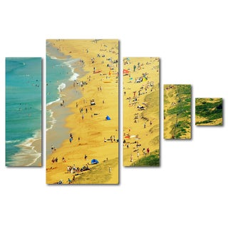 Beata Czyzowska Young 'Life is a Beach' Canvas Wall Art