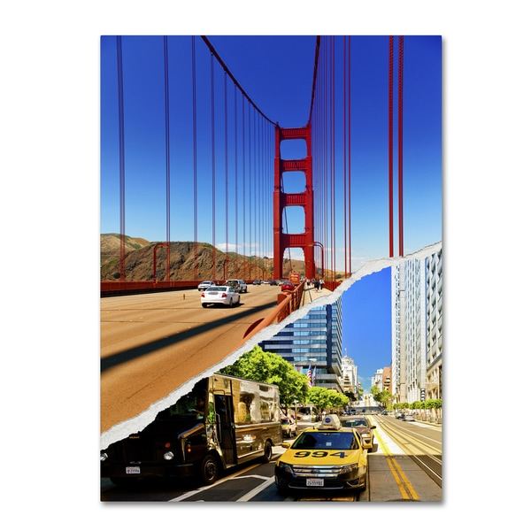 Philippe Hugonnard 'San Francisco Travel' Canvas Wall Art - Multi