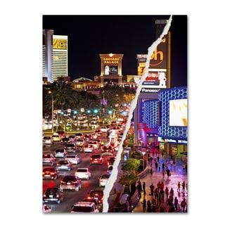Philippe Hugonnard 'The City of Las Vegas' Canvas Wall Art