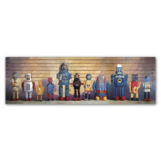Eric Joyner 'The Usual Suspects' Canvas Wall Art