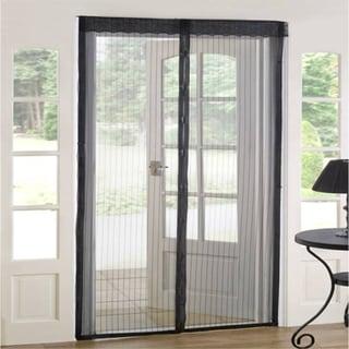 As Seen on TV Magnetic Mesh Screen Door (Set of 2)