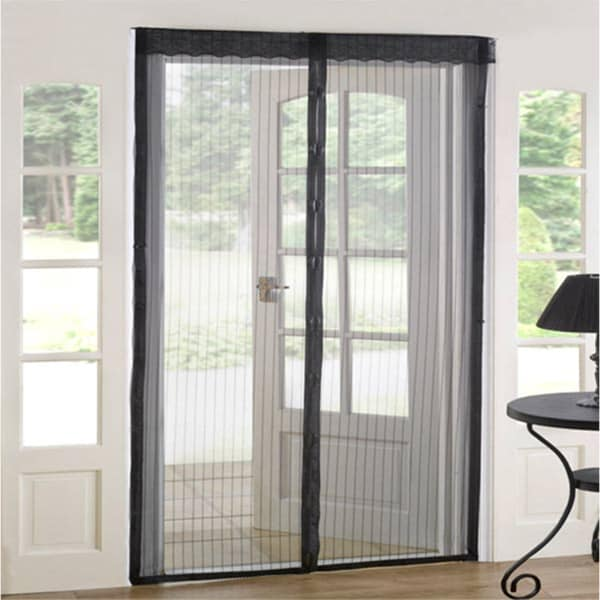 As Seen On Tv Magnetic Mesh Screen Door Set Of 2 Free Shipping Orders Over 45 10498374