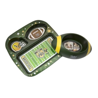 Remarkabowl Green/Yellow ToysFootball Set