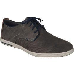 Men's Rieker-Antistress Julian 12 Plain-Toe Sport Oxford Granit/Navy/Kastanie Leather/Synthetic Combo