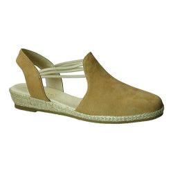 Women's David Tate Nelly Slingback Tan Nubuck (More options available)