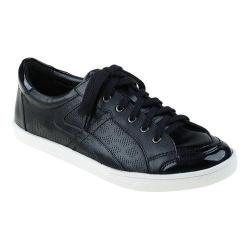 Women's Earth Quince Sneaker Black Soft Calf Leather