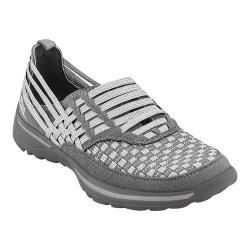 Women's Earth Rapid Slip-On Grey Multi Woven Fiber