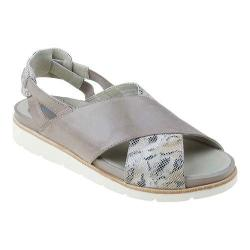 Women's Earthies Santorini Slingback Grey Soft Leather