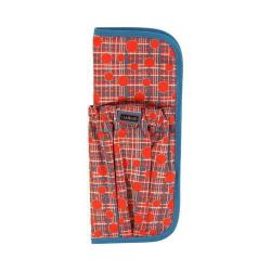 Women's Hadaki by Kalencom Hot Curls Pod (Set of 2) Fiery Red Plaid