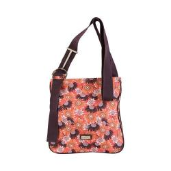 Women's Hadaki by Kalencom Sponge Nylon Zippered Scoop Sling Daisies