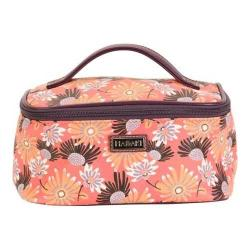 Women's Hadaki by Kalencom Train Cosmetic Case Daisies