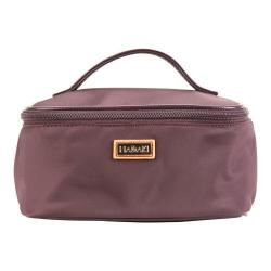 Women's Hadaki by Kalencom Train Cosmetic Case Plum Perfect Solid