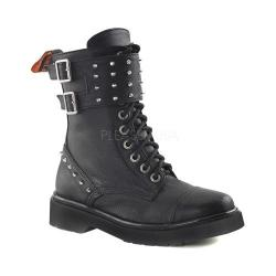 Women's Demonia Rival 309 Boot Black Vegan Leather