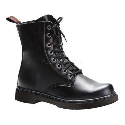 Men's Demonia Defiant 100 Boot Black Vegan Leather