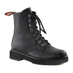 Women's Demonia Rival 100 Boot Black Vegan Leather