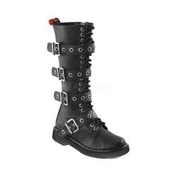 Women's Demonia Rival 404 Boot Black Vegan Leather