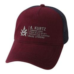 Men's A Kurtz Bryon Cap Dark Red