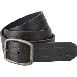 Men's A Kurtz Chance Leather Belt Black