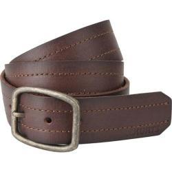 Men's A Kurtz Chance Leather Belt Dark Brown