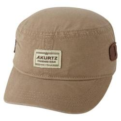 Men's A Kurtz Len Military Cap Tan