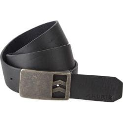 Men's A Kurtz Patrick Leather Belt Black