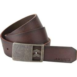 Men's A Kurtz Patrick Leather Belt Dark Brown
