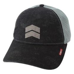Men's A Kurtz Pax Camo Trucker Black