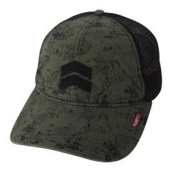 Men's A Kurtz Pax Camo Trucker Hunter Green