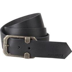 Men's A Kurtz Tyson Leather Belt Black
