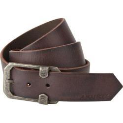 Men's A Kurtz Tyson Leather Belt Dark Brown