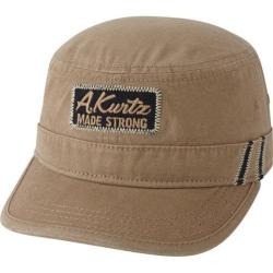 Men's A Kurtz Zane Military Cap Tan